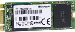 Dysk SSD Transcend MTS600 128 GB M.2 2260 SATA III (TS128GMTS600)