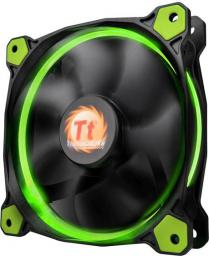 Thermaltake Riing 12, 120mm LED zielony (CL-F038-PL12GR-A)