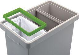 Kosz na śmieci ECOABC do segregacji 40L 3 kolory (polyma)