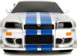 Dickie Auto na radio Fast&Furious Szybcy i wściekli Nissan Skyline GTR 1:16 Dickie