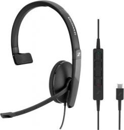 Słuchawki z mikrofonem Sennheiser SC130 USB-C (508353)
