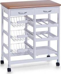 Zeller Zeller, Wózek kuchenny, 38x76x66cm, biały