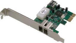 Kontroler Dawicontrol PCIe x1 - 3x FireWire 400 (DC-1394)