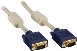 Kabel Goobay D-Sub (VGA) - D-Sub (VGA), 10, Szary (93379)