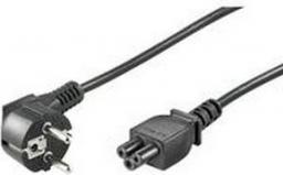 Kabel zasilający Goobay 3 pin do laptopów, kątowy, 1.8 m (68004)