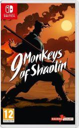 NS 9 Monkeys of Shaolin Nintendo Switch
