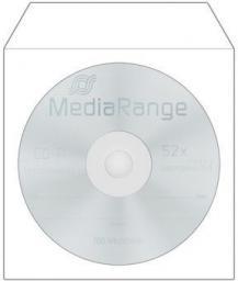 MediaRange koperta na CD/DVD, 100 sztuk (BOX62)