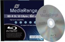 MediaRange BD-R DL, 6x, 50GB, 1 sztuka (MR506)