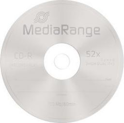 MediaRange CDR 52x, 700MB, 10 sztuk (MR205)