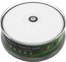 MediaRange DVD+R,  16x,  4,7GB, do drukarek atramentowych,  25 sztuk (MR408)