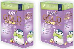 Nuppi Mleko Nuppi Gold 3 o smaku waniliowym powyżej 12 m-ca życia 700 g