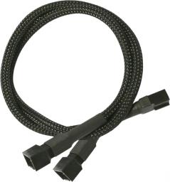 Nanoxia 3-Pin Molex rozgałęźnik 30 cm, czarny (900100002)