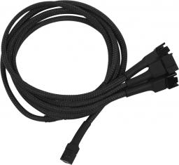 Nanoxia 3-Pin Molex - 4x3-Pin adapter 60cm, czarny (900100005)