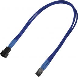 Nanoxia 3-Pin Molex przedłużacz 30cm niebieski (900200017)