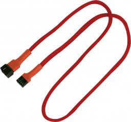 Nanoxia 4-Pin PWM przedłużacz 60cm czerwony (900300012)