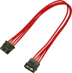 Nanoxia 4-Pin Molex przedłużacz 30cm czerwony (900300025)