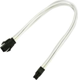Nanoxia 4-Pin P4 przedłużacz 30cm, biały (900400019)