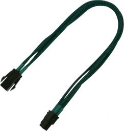 Nanoxia 4-Pin P4 przedłużacz 30cm, zielony (900500019)