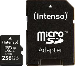 Karta Intenso Premium MicroSDHC 256 GB Class 10  (3423492)