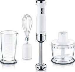 Blender Graef Graef Hand Blender HB501 (white / stainless steel, 3-Piece Set)