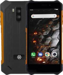 Smartfon Hammer Iron 3 32 GB Dual SIM Czarno-pomarańczowy  (75357)