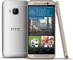 Smartfon HTC One M9 32 GB Srebrno-złoty  (99HADF124-00)