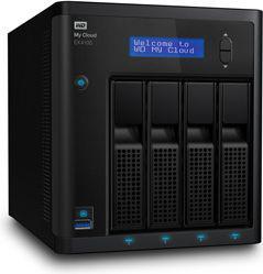 Serwer plików Western Digital My Cloud EX4100, 8TB (WDBWZE0080KBK-EESN)