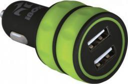 Ładowarka iBOX 2x USB 3.1A (ICC12BG)