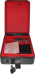 vidaXL Stalowy sejf (225x165x85 mm) z uchwytem