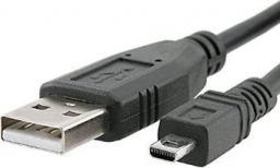 Kabel USB Sharkoon 2.0 A-B Mini, 0,5m, czarny (4044951015559)