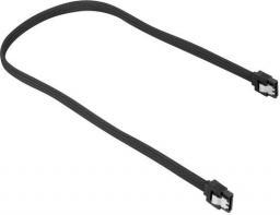 Sharkoon Kabel SATA III, 30 cm, czarny (4044951016594)
