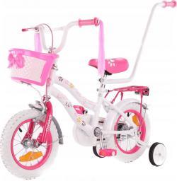 Enero Rower dziecięcy 12 cali z wyposażeniem Love Kitty