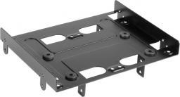 Sharkoon Adapter 5.25cala na 4x 2.5cala Czarny (4044951013319)