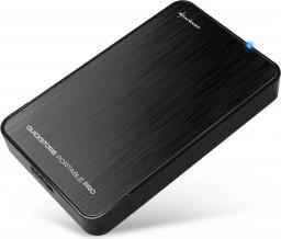 "Kieszeń Sharkoon QuickStore Portable Pro USB 3.0 2.5"" Czarny (4044951011261)"