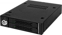 "Kieszeń Icy Dock MB992SK-B, 2 x 2,5"", SAS & SATA"