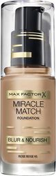 MAX FACTOR Max Factor miracle match podkład nr 65 rose beige