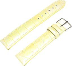 JVD Skórzany pasek do zegarka 18 mm JVD RK 179-18 uniwersalny