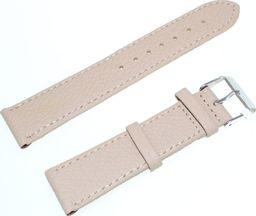JVD Skórzany pasek do zegarka 20 mm JVD R22717-20 uniwersalny