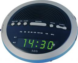 Radiobudzik AEG MRC 4106 Niebieski