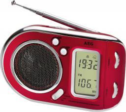 Radio AEG WE 4125 Czerwone (40907_CZERW)