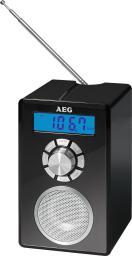 Radiobudzik AEG MR 4139 Bluetooth, Czarny