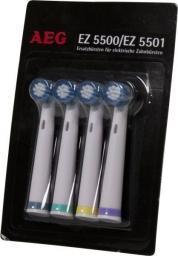 Końcówka AEG do szczoteczki elektrycznej EZ 5500, EZ 5501 4szt.