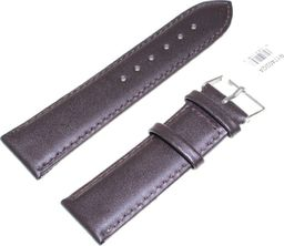 JVD Skórzany pasek do zegarka 24 mm JVD R17402-24 uniwersalny