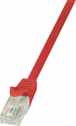 LogiLink CAT 5e Patchcord U/UTP Czerwony 0.25M (CP1014U)