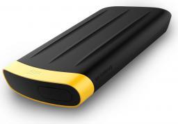 Dysk zewnętrzny Silicon Power HDD Armor A65 1 TB Czarno-Żółty (SP010TBPHDA65S3K)
