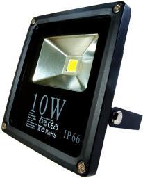 Naświetlacz ART Lampa zewnetrzna, 10W, 4000K, 600lm, biała (LEDLAM 4102320)