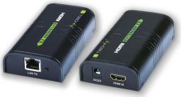 System przekazu sygnału AV Techly Wzmacniacz sygnału, splitter HDMI po IP, do 120m (306004)