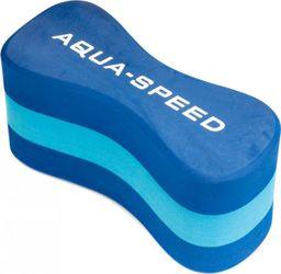 Aqua-Speed Deska do pływania, do nauki dla dzieci ÓSEMKA 3 JUNIOR niebieska Aqua-Speed