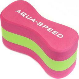 Aqua-Speed Deska do pływania, do nauki dla dzieci ÓSEMKA 3 JUNIOR różowa Aqua-Speed