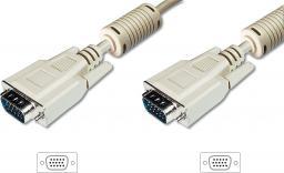 Kabel Ansmann D-Sub (VGA) - D-Sub (VGA) 15m biały (AK-310103-150-E)